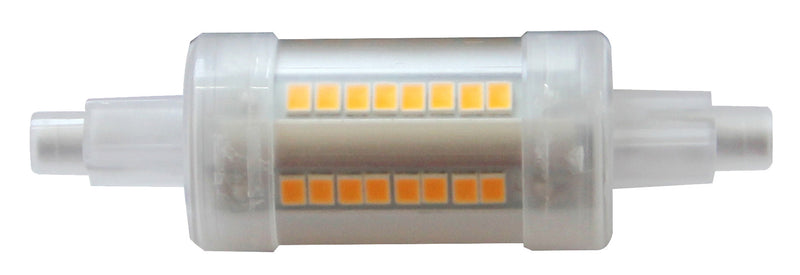167282 - Ecowatts - R7S LED 78mm 7W 2700K 750Lm 360°