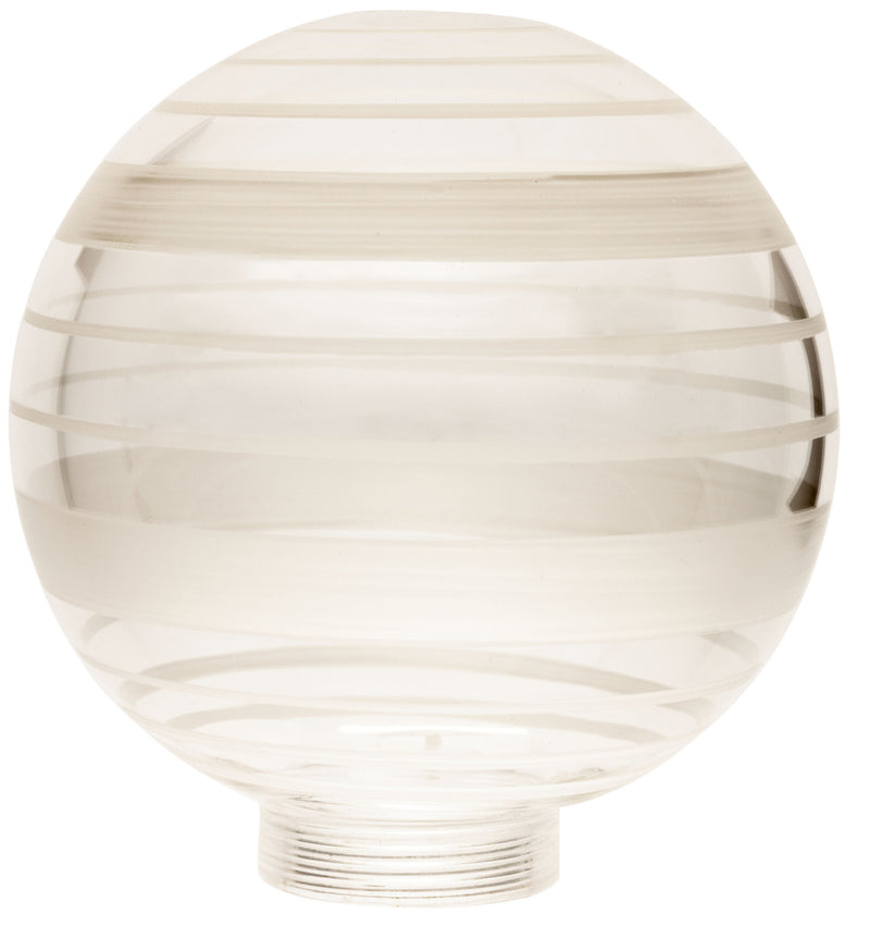 18455 - Globe Glassware Socket Source D100 Screwbase 31,5mm White