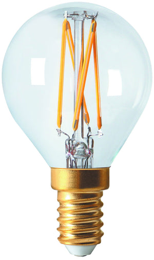 28646 - Golfball G45 Filament LED 4W E14 2700K 320Lm Dim. Cl.