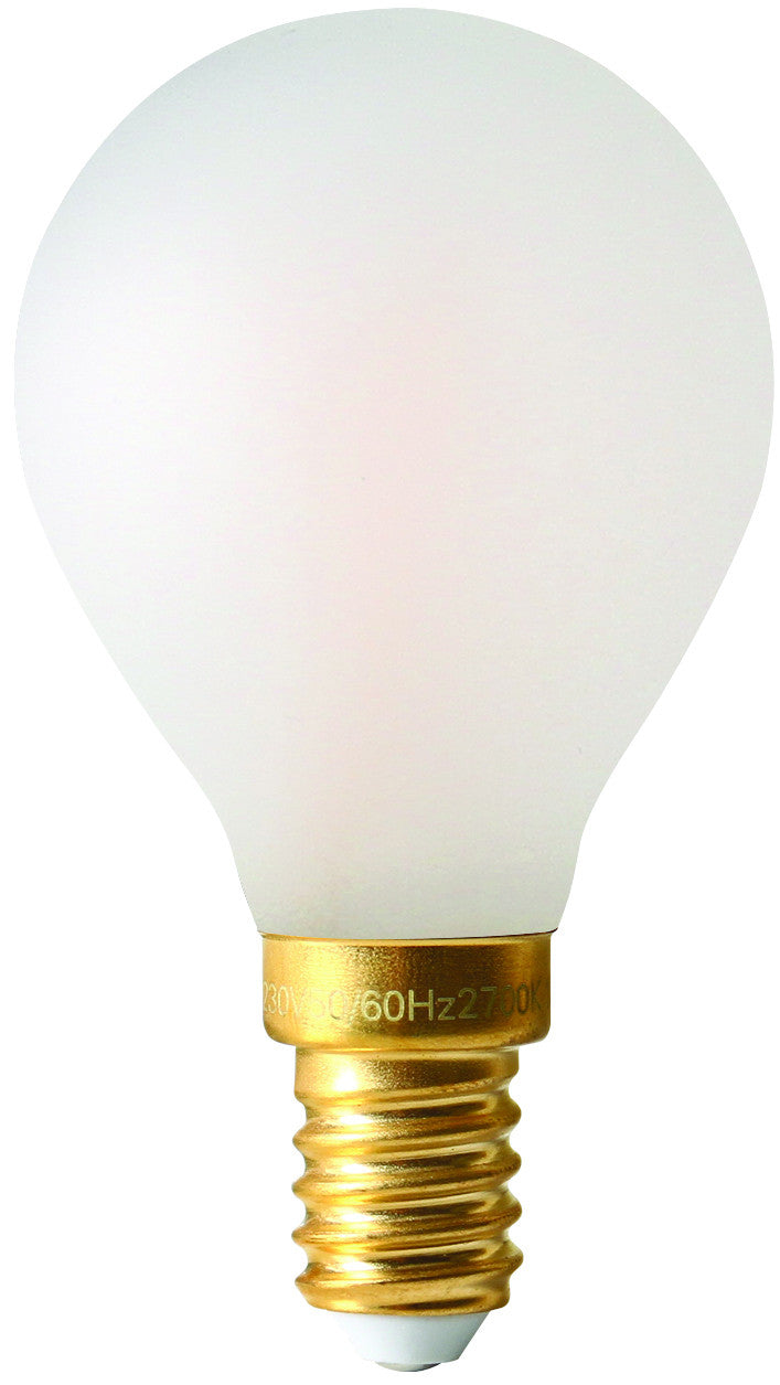 28647 - Golfball G45 Filament LED 4W E14 2700K 300Lm Dim. Mat