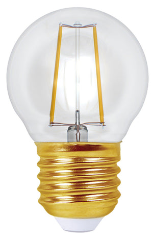 998652 - Ecowatts - Golfball G45 Filament LED 4W E27 2700K 420Lm Cl.