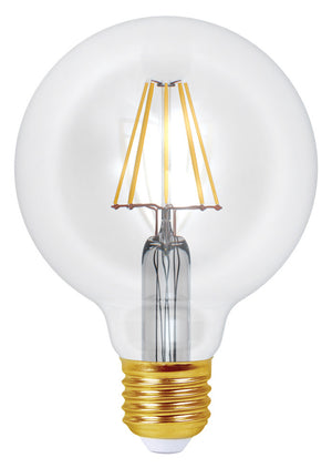 998671 - Ecowatts - Globe G95 Filament LED 8W E27 4000K 1055Lm Cl.