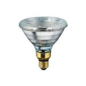 IR240100E-2-PH - 240v 100w E27 Clear Hard Glass PAR38