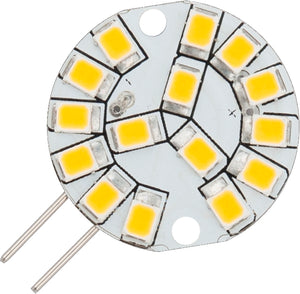 Schiefer L022450427 - LED G4 Disc 24x10mm 12V 190Lm 1.5W 827 180deg AC/DC Non-Dim