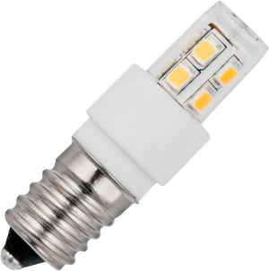 Schiefer L024362427 - LED E14 Tube T17x52mm 10-30V AC/DC 140Lm 2W 827 Clear Non-Dim