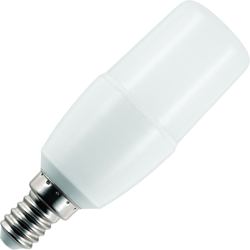 Schiefer L143864830 - LED E14 Stick T38x108mm 95-265V 640Lm 7W 830 270deg AC Opal Non-Dim