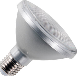 Schiefer L642775827 - LED E27 PAR30 95x95mm 230V 650Lm 10W 827 36deg AC Silver Dim IP65