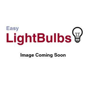 GLL1.5BC-Y-CR - 240v 1.5w B22d Yellow GLS IP65