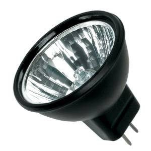 M252-BB-BV - 12v 20w GU4 35mm  12Deg Black Back Alu