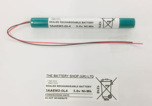 TBS 3AAEM2-0L4 3.6v 2.0Ah Ni-Mh Rechargeable Battery Pack