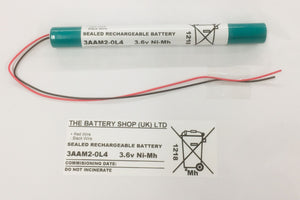 TBS 3AAM2-0L4 3.6v 2.0Ah Ni-Mh Battery Pack