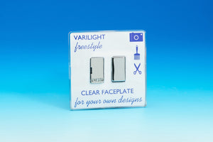 Varilight XIF6C - 13A Switched Fused Spur with Metal Inserts