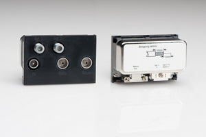 Varilight Z2G5XB - 5 Outlet Module Sat x 2/TV/Screened Return/FM (+DAB) (3 DataGrid Spaces)