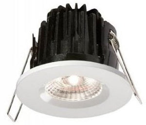 FireKnight IP65 7W LED COB (Chip On Board) Cool White Fire-Rated Downlight