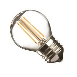 Casell GBL4ES-82D-CA - Filament LED Golf Ball 240v 4w E27 440lm 2700°k Dimmable - 0635635589110