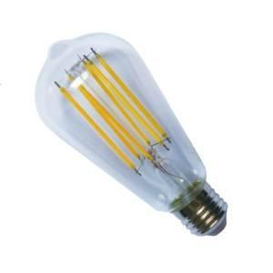 "Casell G125L8ES-82DP-CA - Casell Filament LED ST64 ""Edison"" 240v 8w E27 850lm 2800°k Dimmable - 0635635589226"