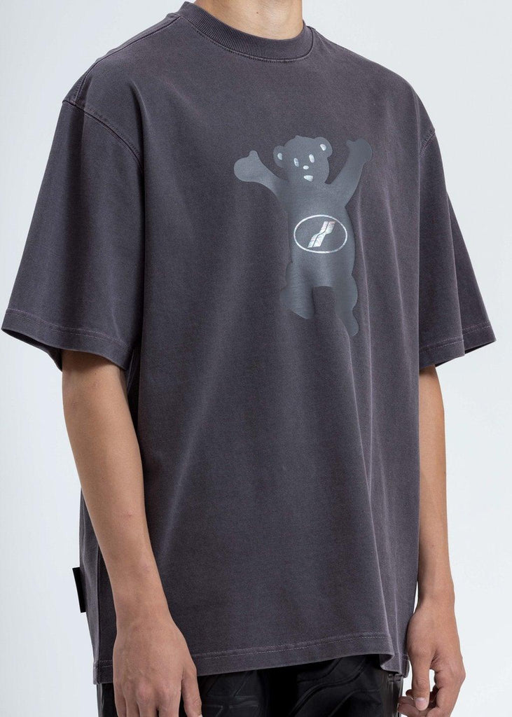 We11done Teddy T-shirt Charcoal - Mores Studio