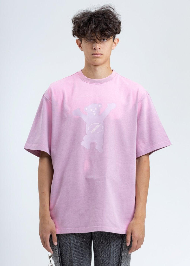 We11done Teddy T-shirt Pink - Mores Studio