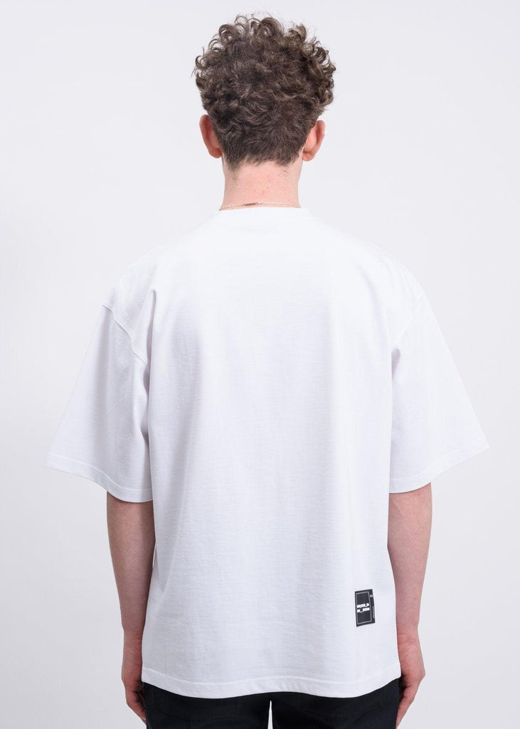 We11done Front Logo Tee White - Mores Studio