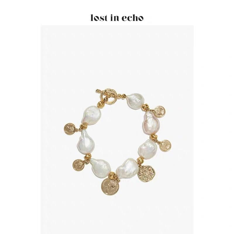 Lost In Echo SS20 Mazzy Pearl Bracelet - Mores Studio