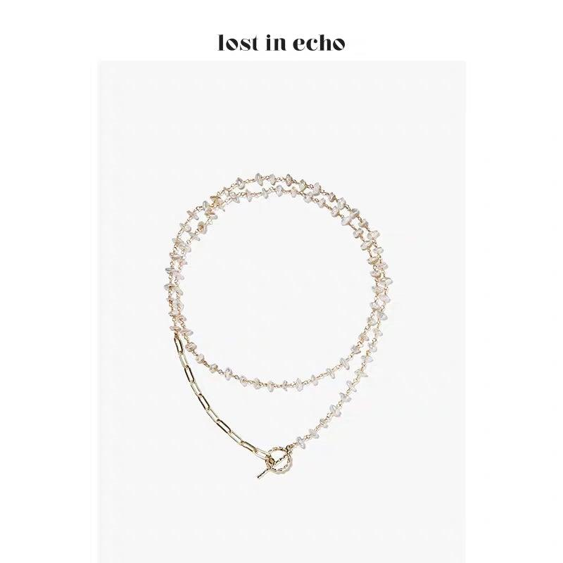 Lost In Echo SS20 Melody Pearl Necklace - Mores Studio