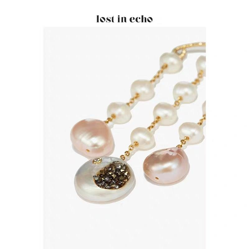 Lost In Echo SS20 Lola Pearl Earring - Mores Studio