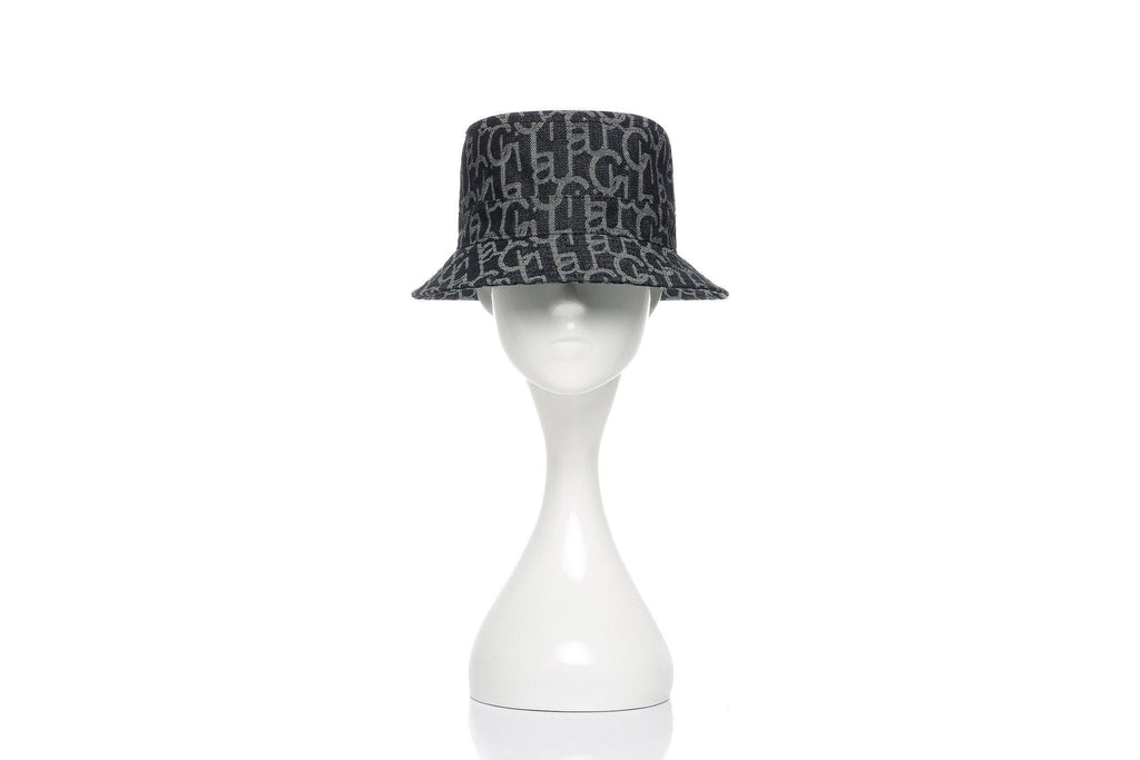 Laurence&Chico Laulau Chichi Jacquard Small Brim Bucket Hat Dark Blue - Mores Studio