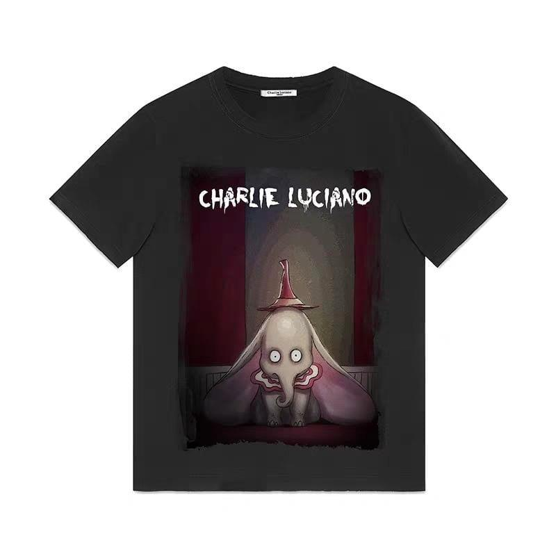 CHARLIE LUCIANO Dumbo Tee Black - Mores Studio