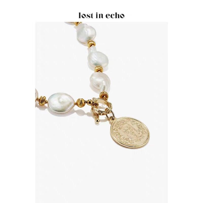 Lost In Echo SS20 Mazzy Pearl Necklace - Mores Studio