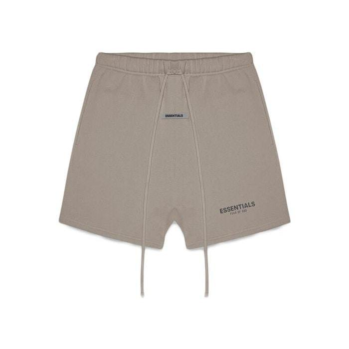 FOG Essentials Sweat Shorts Taupe - Mores Studio