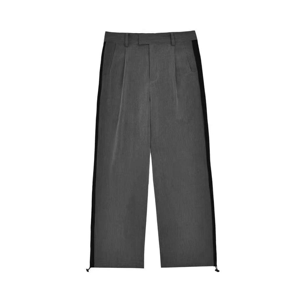 Ain't Shy Oversized Straight Trousers - Mores Studio