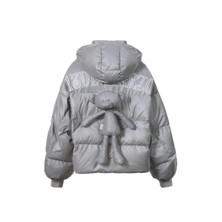 13 De Marzo Back Bear Down Jacket Reflective - Mores Studio