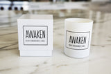 """Awaken"" Higher Consciousness Meditation Candle"
