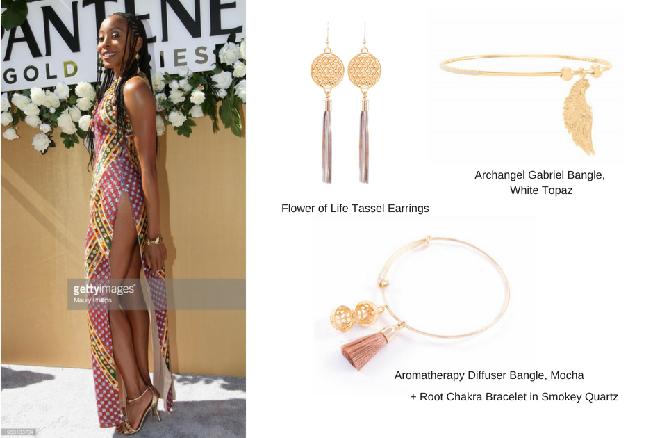 Erica Ash Wears Seven Saints at the 2018 BET Awards