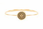 CROWN CHAKRA Sahasrara Bangle, Gold Vermeil *Online only