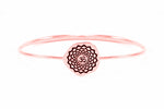 CROWN CHAKRA Sahasrara Bangle, Rose Gold Vermeil