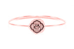 ROOT CHAKRA Muladhara Bangle, Rose Gold Vermeil *Online Only