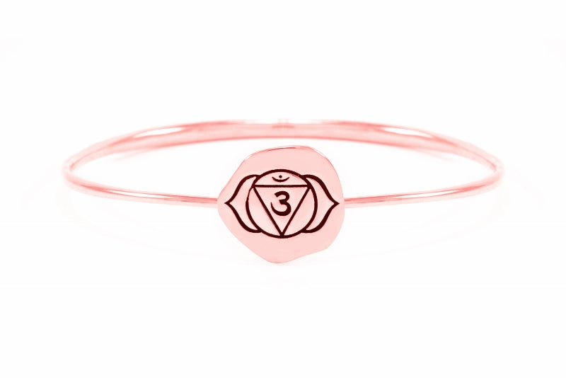BROW CHAKRA Ajna Bangle, Rose Gold Vermeil *Online Only