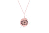 BROW CHAKRA Anja Necklace Rose Gold