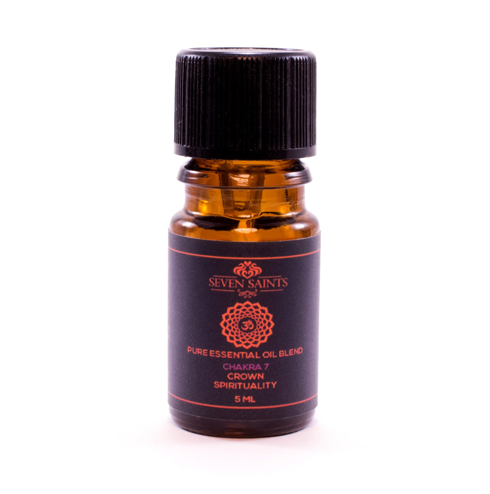 CROWN CHAKRA 7 100% Pure Aromatherapy Balancing Blend, 5 ml