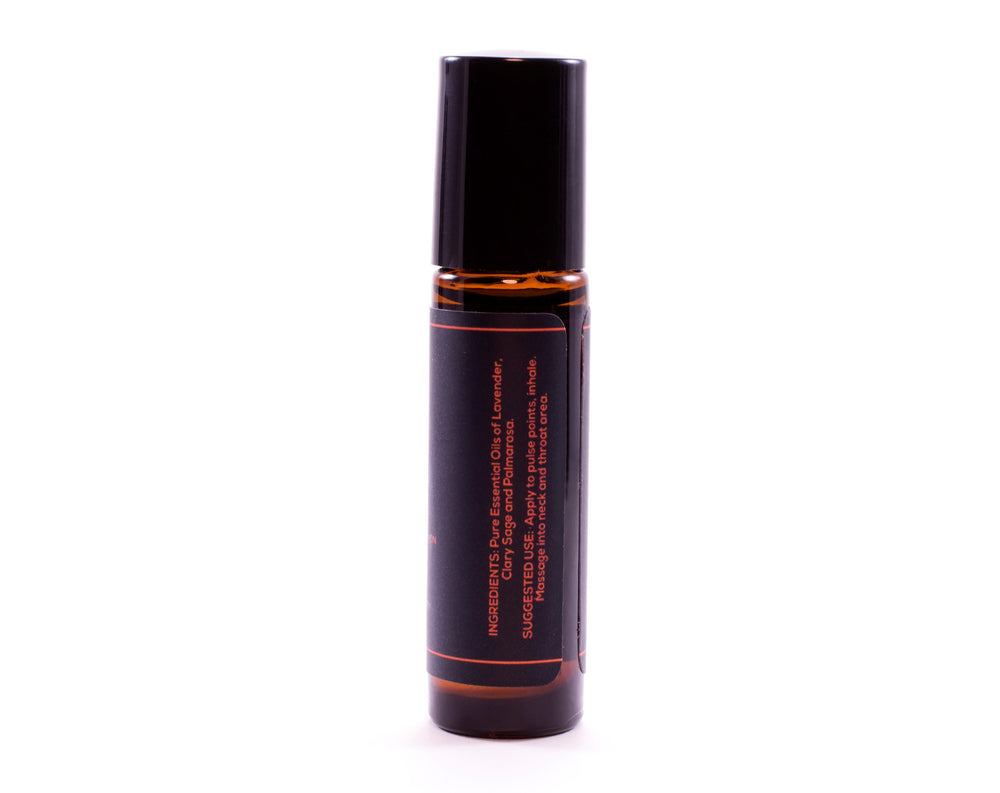 THROAT CHAKRA 5 Pure Aromatherapy Roll On Essence 10ml