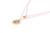SOLAR PLEXUS CHAKRA Manipura Double Strand Necklace 18K Gold Finish/Gold Fill