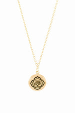 ROOT CHAKRA Necklace 18K Gold Vermeil