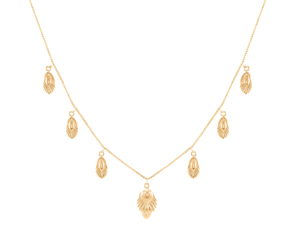 Artemis Slider Necklace, 18k Gold Vermeil