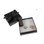 Aromatherapy Round Diffuser Locket + Aromatherapy Oil Luxury Gift Set (Valued at $90+)