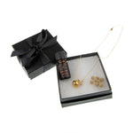 Aromatherapy Round Diffuser Locket + Aromatherapy Oil Luxury Gift Set