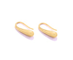 Minimalist Ear Hook, 18K Gold Vermeil