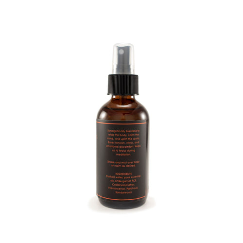Meditate 100% Pure Essential Oil Spray,  Create Sacred Space