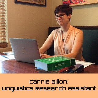 Carrie Gillon: Linguistics Research Assistant