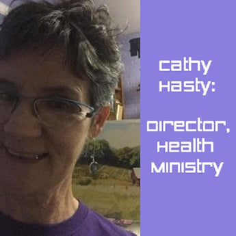 Cathy Hasty: Director, Health Ministry